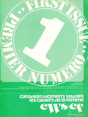 View Vol 1, No 1 (1978)